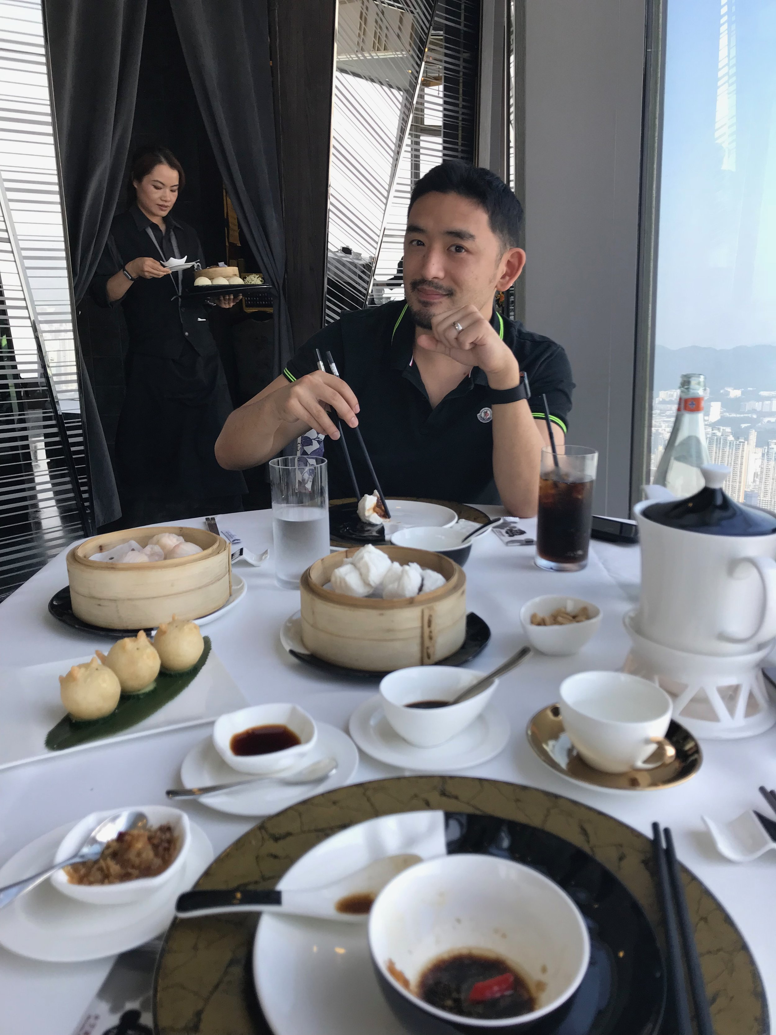 Dim Sum at Sky Boss 101 (Delicious Dim Sum to be enjoyed on the 101th floor)