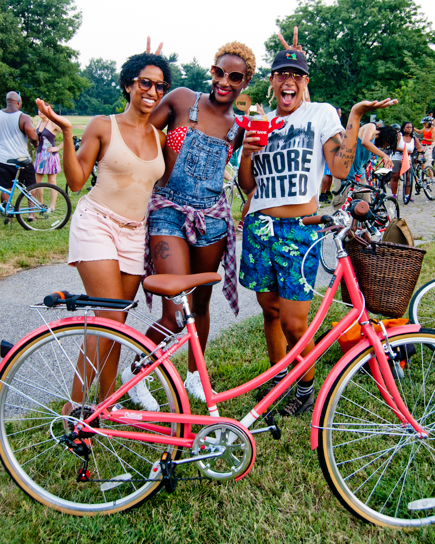 """""""I like Baltimore because it's something other than going to the bar. I like the community and the reaction of people as we ride through the neighborhoods. Great way for different people to go to different communities in Baltimore, to breaking those barriers. Once you remove that fear, it starts to feel more like home."""""""
