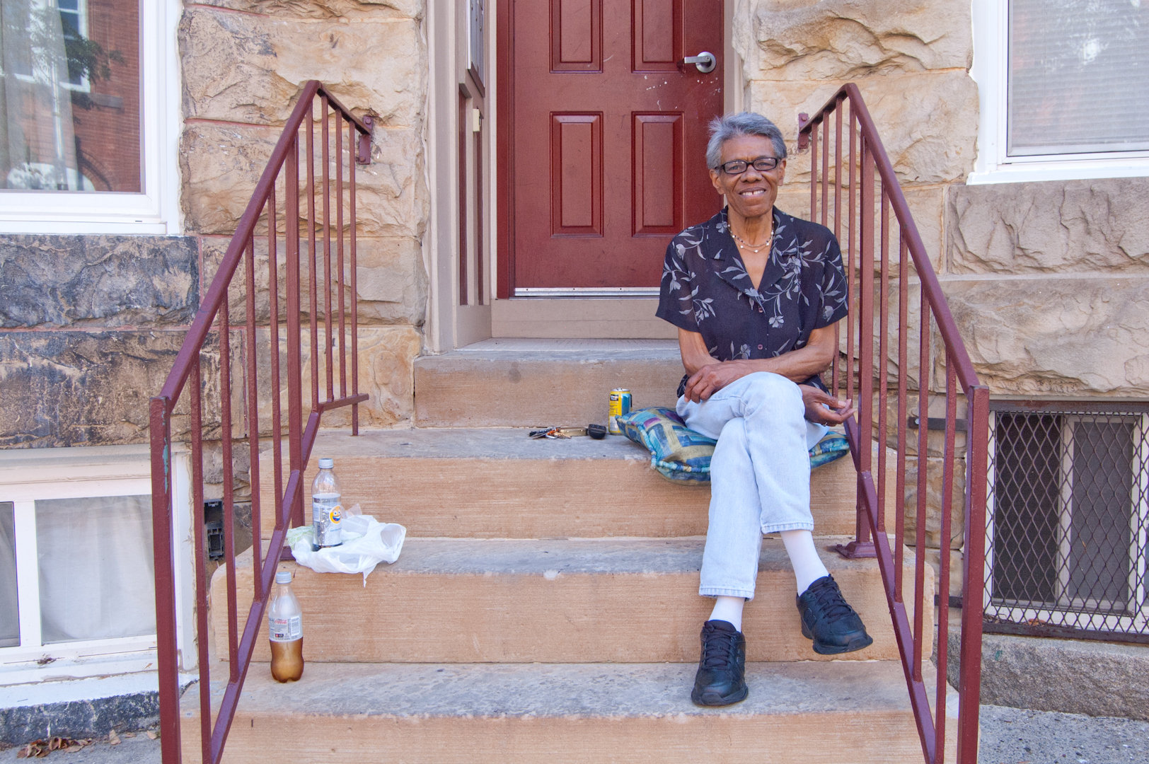 """""""My name is Shirley Dendy and I'm at Guilford Avenue for 16 years. It's a great neighborhood and I raise my grandsons and great-grandsons here. It's a very convenient and I work right around the corner at the Greenmount Senior Center; it's a Korean Center and they are wonderful people."""""""