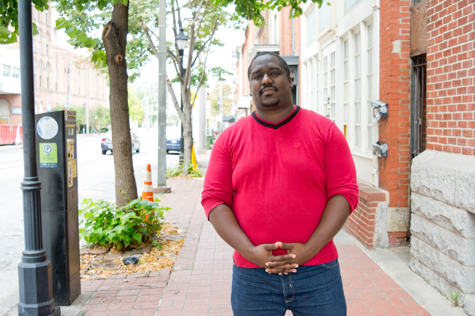 """I think about the interesting place that this is in terms of probably a hot development spot that hasn't taken off like others. There's a super block project that was supposed to be a few blocks to the south. This place is the Bromo Arts District and you have the Arena Players and Eubie Blake and parts of an underground neighborhood. For me, this black arts, black space, arts district hasn't been as preserved as the way it should be and I don't know how the legacy as a black arts space will be preserved in the future.""  Neighborhood: Mount Vernon"