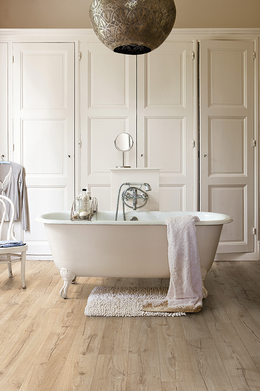 Quick-Step's Impressive laminate flooring in Classic Oak Beige