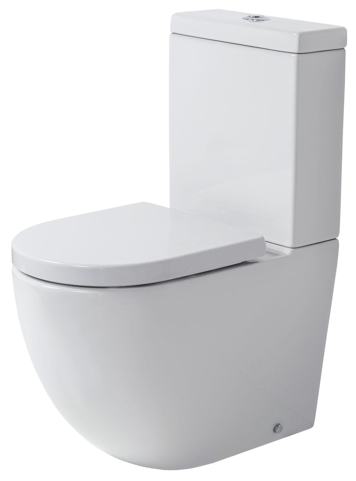 VCBC Rest Rimless Toilet Suite