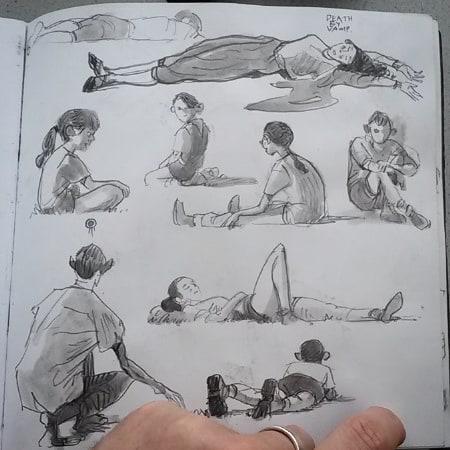 #sketchbook #summer #2017 #scouts