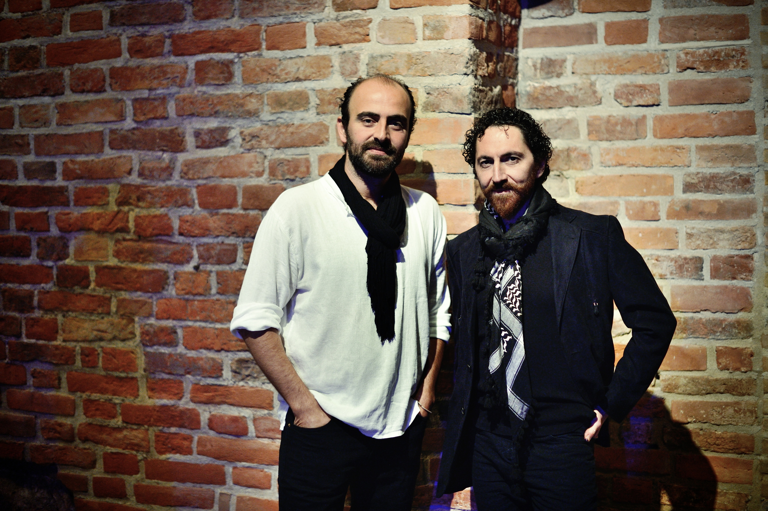 """""""Home Within""""Kevork Mourad and Kinan Azmeh. Photos taken at National Sawdust (in Williamsburg, Brooklyn)© Jill Steinberg"""
