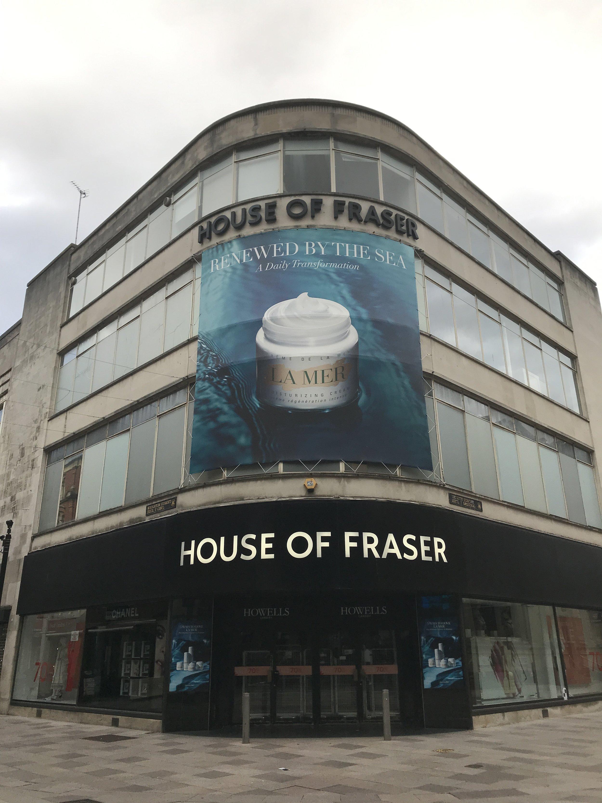 House of Fraser, Cardiff