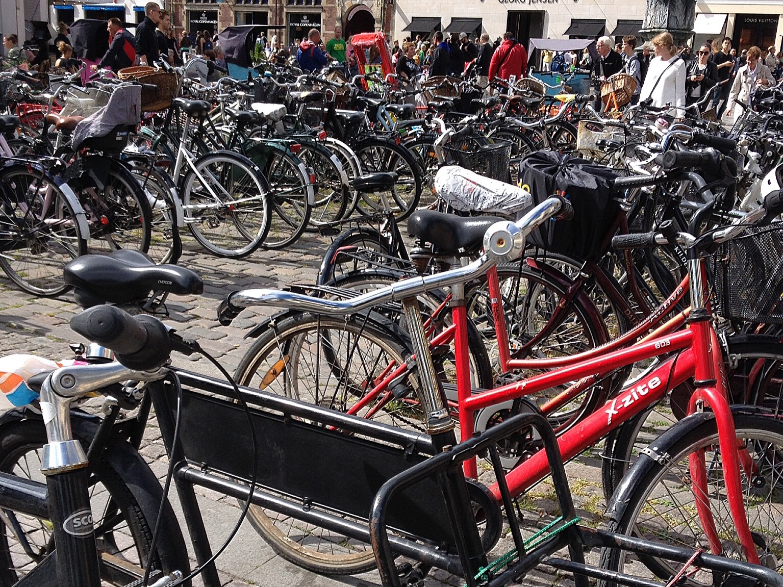 A common sight in Copenhagen - will it be repeated in Welsh towns and cities?