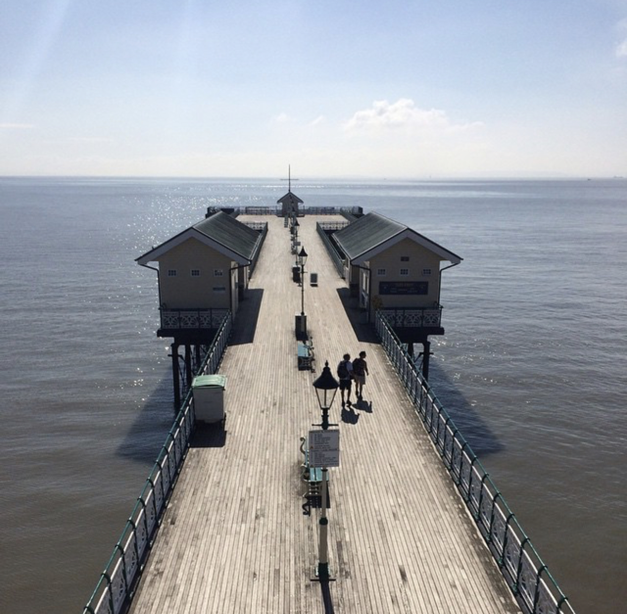 The view from 617 Room, The Observatory at Penarth Pier Pavilion