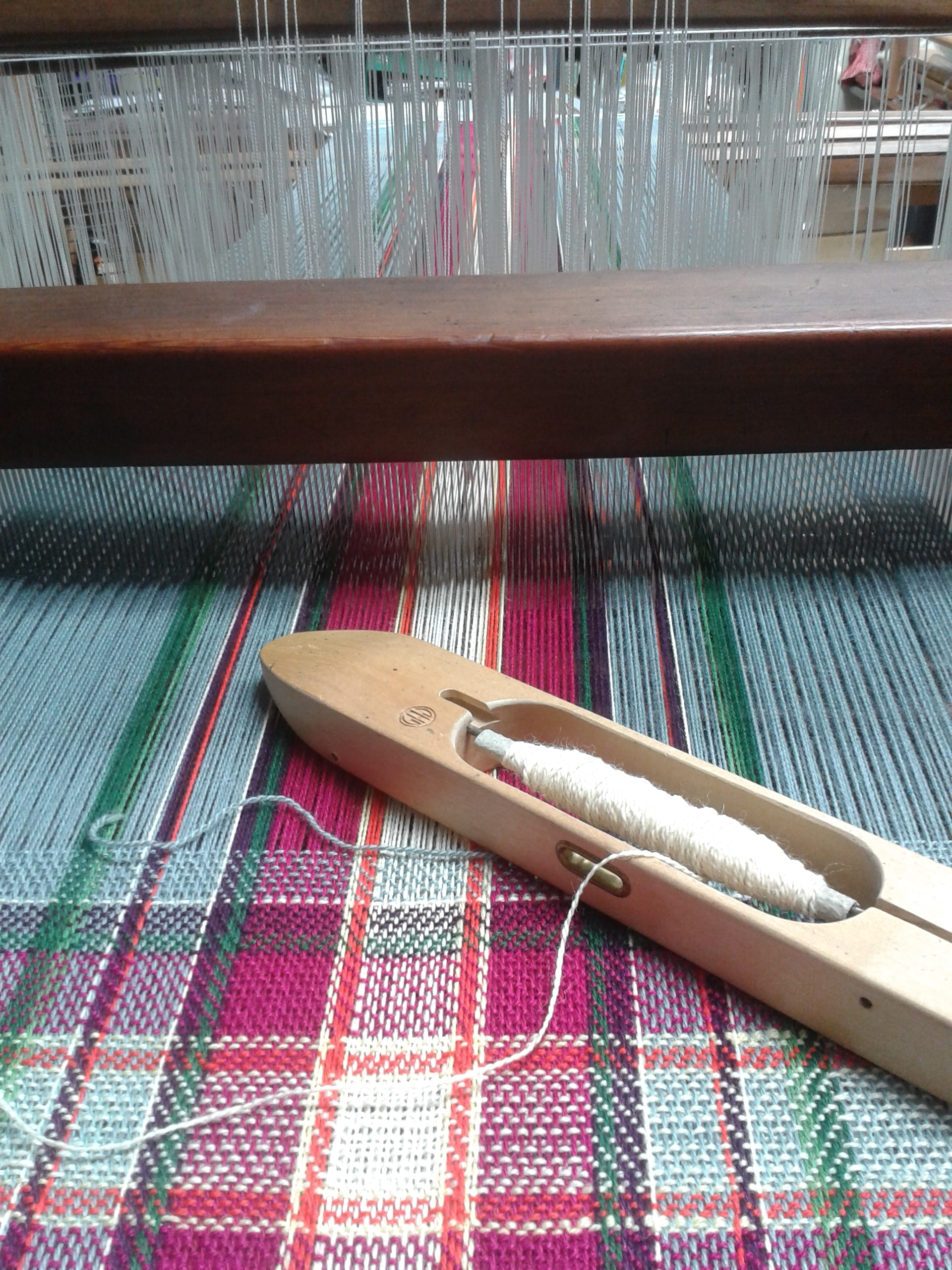 material on the loom- 2015