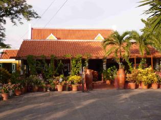 Landhuis Daniel, restaurant