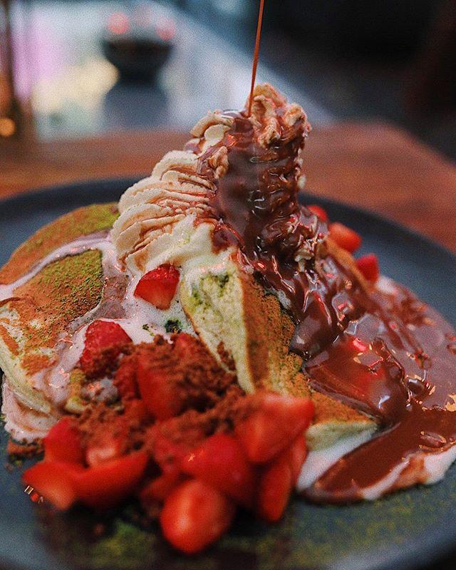 Pannkakor till brunch är alltid en bra idé 😋 Missa inte sista brunchen för säsongen denna lördag. Boka bord på kasai.se 🌸🥂#wearekasai #kasaisthlm