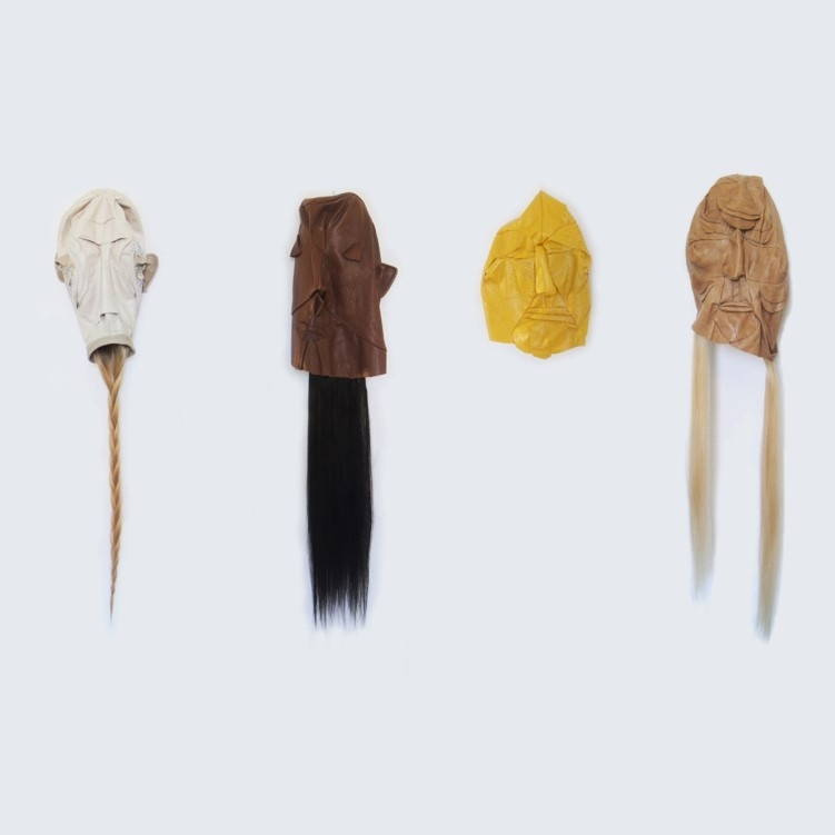 POLLY VAN DER GLAS     Facebags, 2015