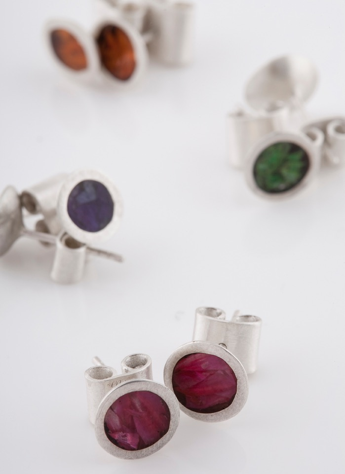 Image: Mary Odorcic, Coloured resin studs, 2005. Image courtesy the artist