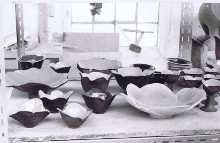 Lene Kuhl Jackobsen, 'Flowers' at school circa 1977