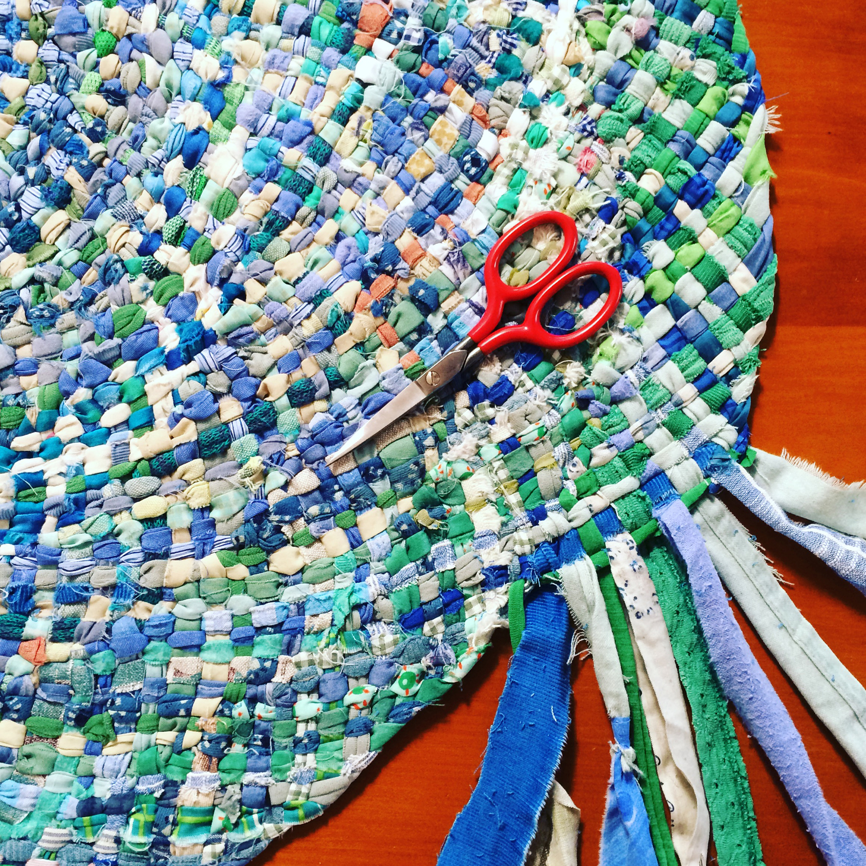 Spiral Braided Rag Rug Workshop
