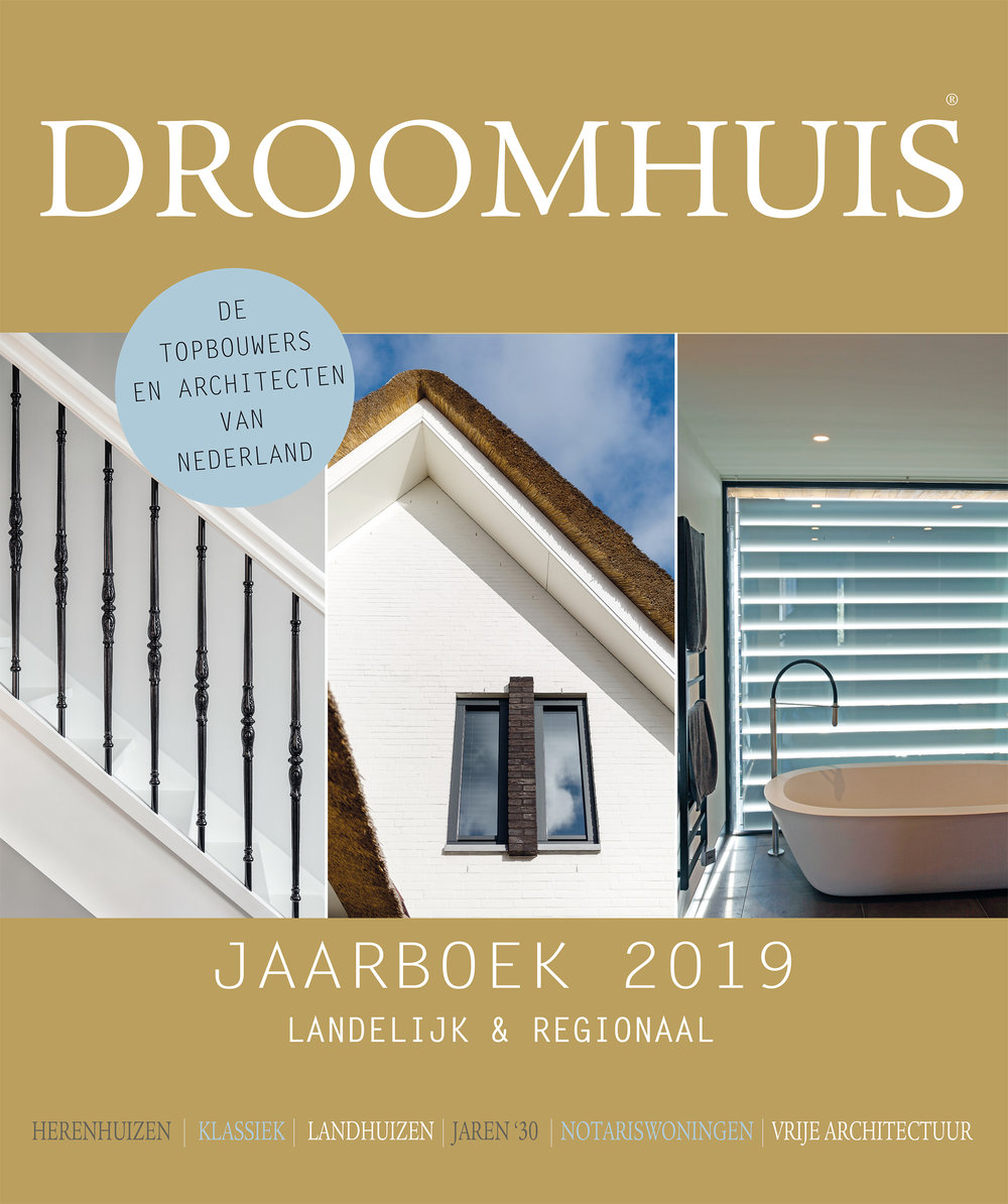 - Once a year the dutch magazine Kavel & Huis publishes a Dream Homes special. I contributed to the '19 edition.