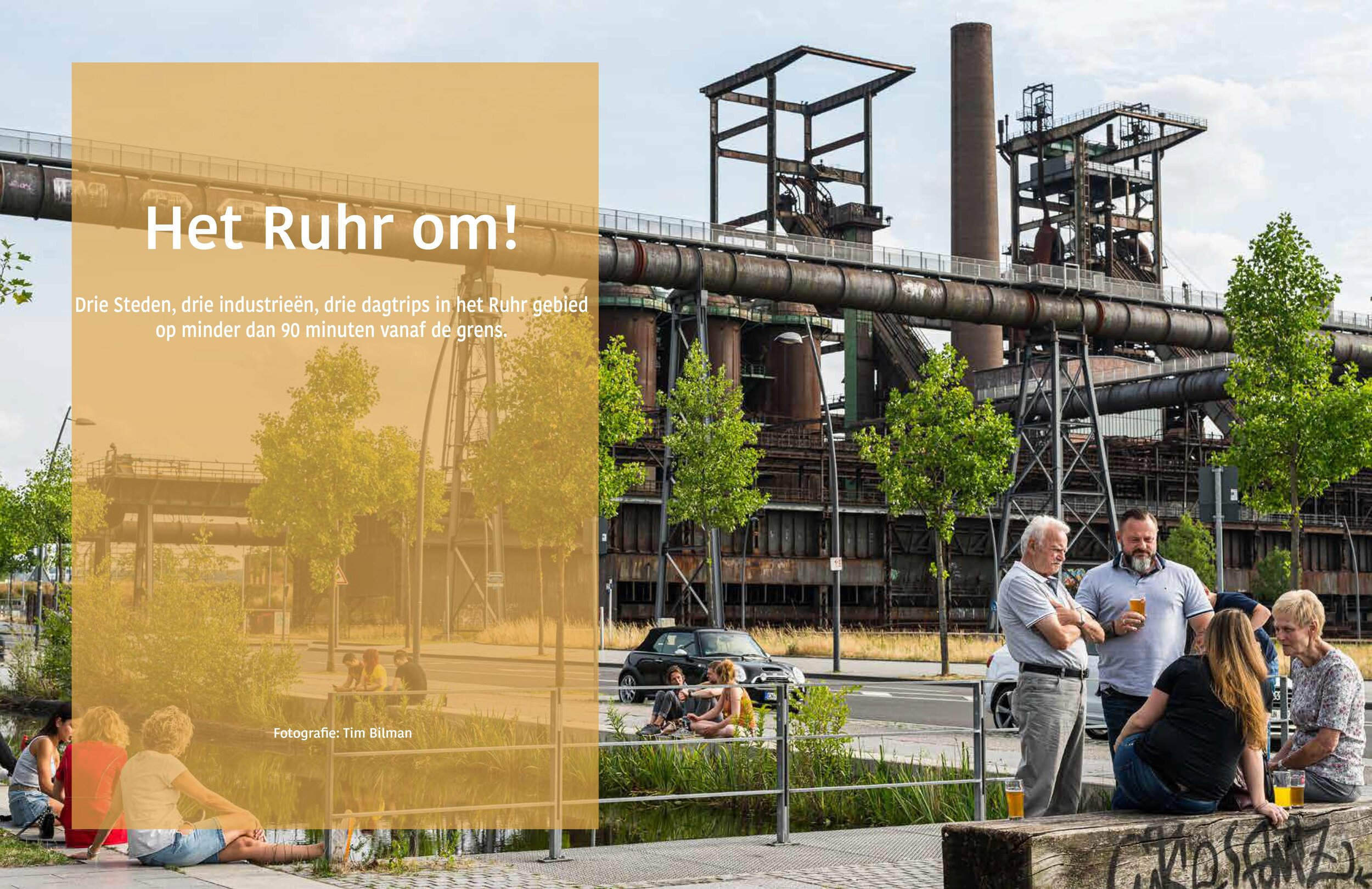 Ruhr Area - For the dutch magazine Caravannen! I wrote an article about the Ruhr area in west Germany. This article is all about reusing old polluting industrial buildings. The article was published October '19 in Caravannen!.