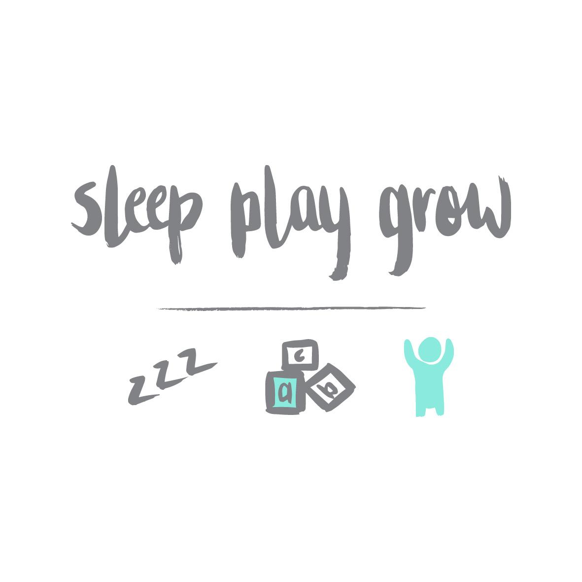 SLEEP PLAY GROW LOGO