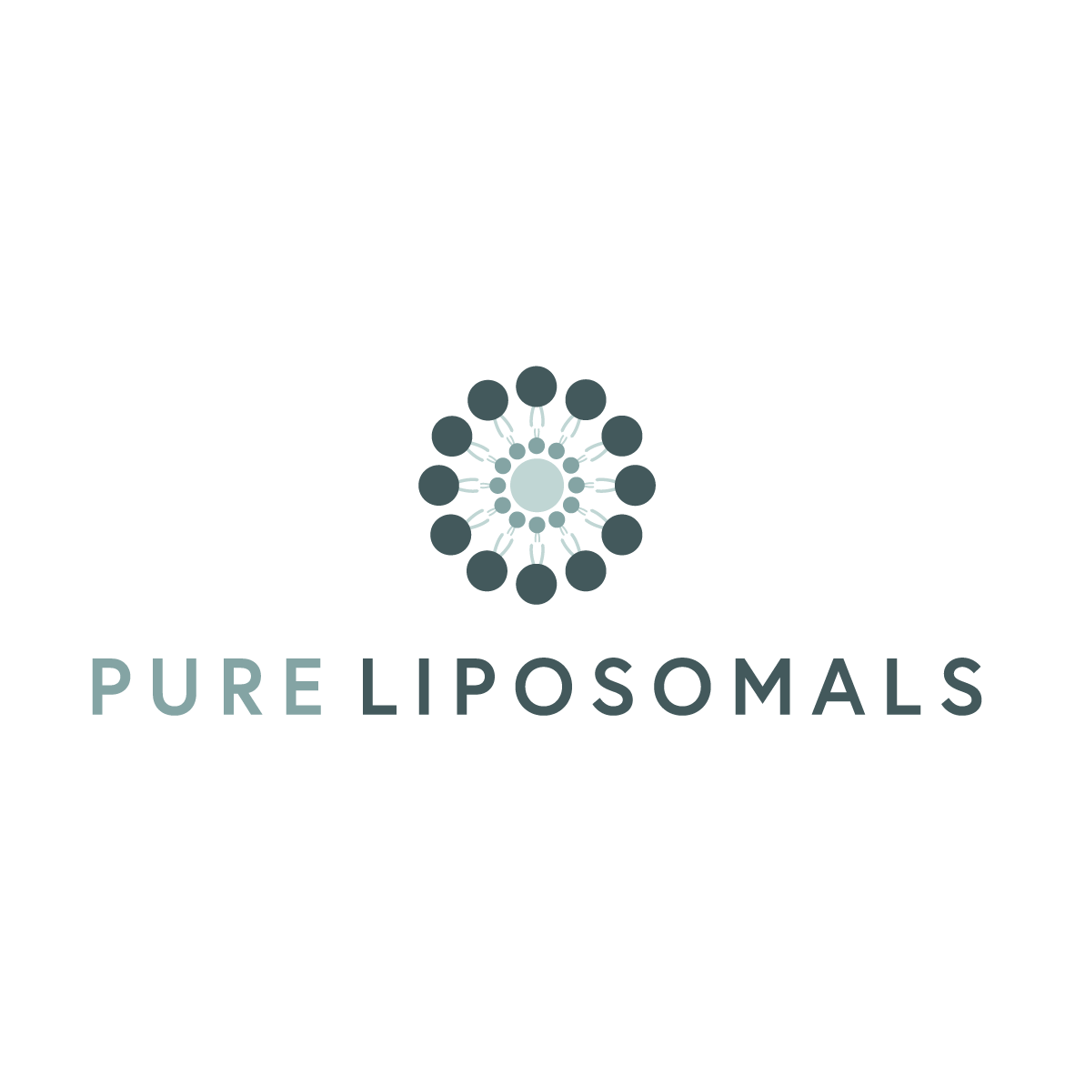 The logo was intended to showcase the Liposome in a very clear and visually communicative fashion. - The packaging mockups featured here can be found at Graphic Google and Graphics Fuel sites.