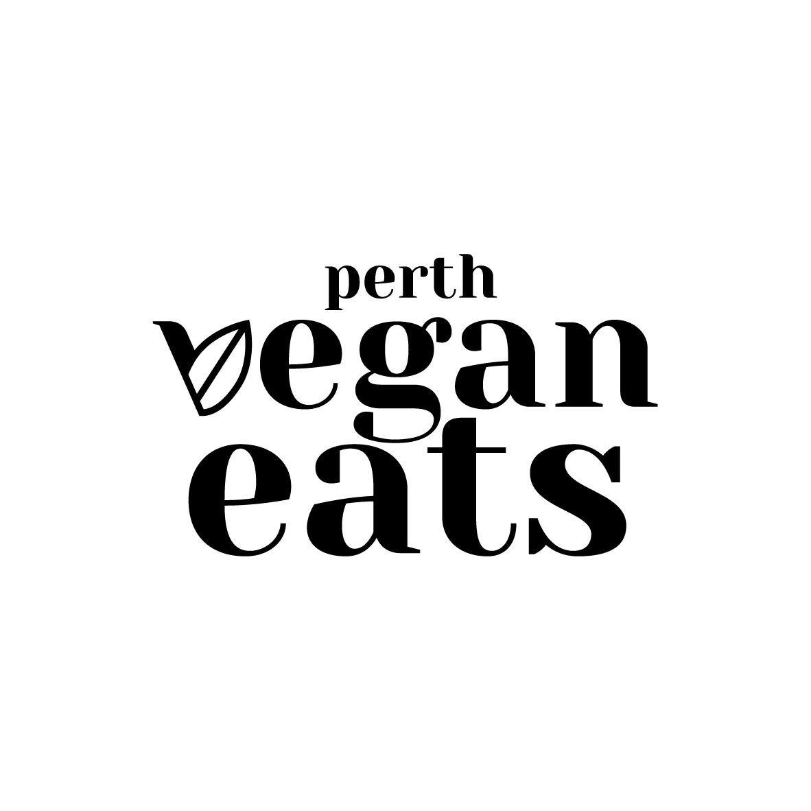 The logo design was intended to be used in full and have the leaf letter V utilized on its own as well. - @perthveganeats Instagram page is an awesome blogger and has an amazing page on the best Perth has to offer for everything vegan.