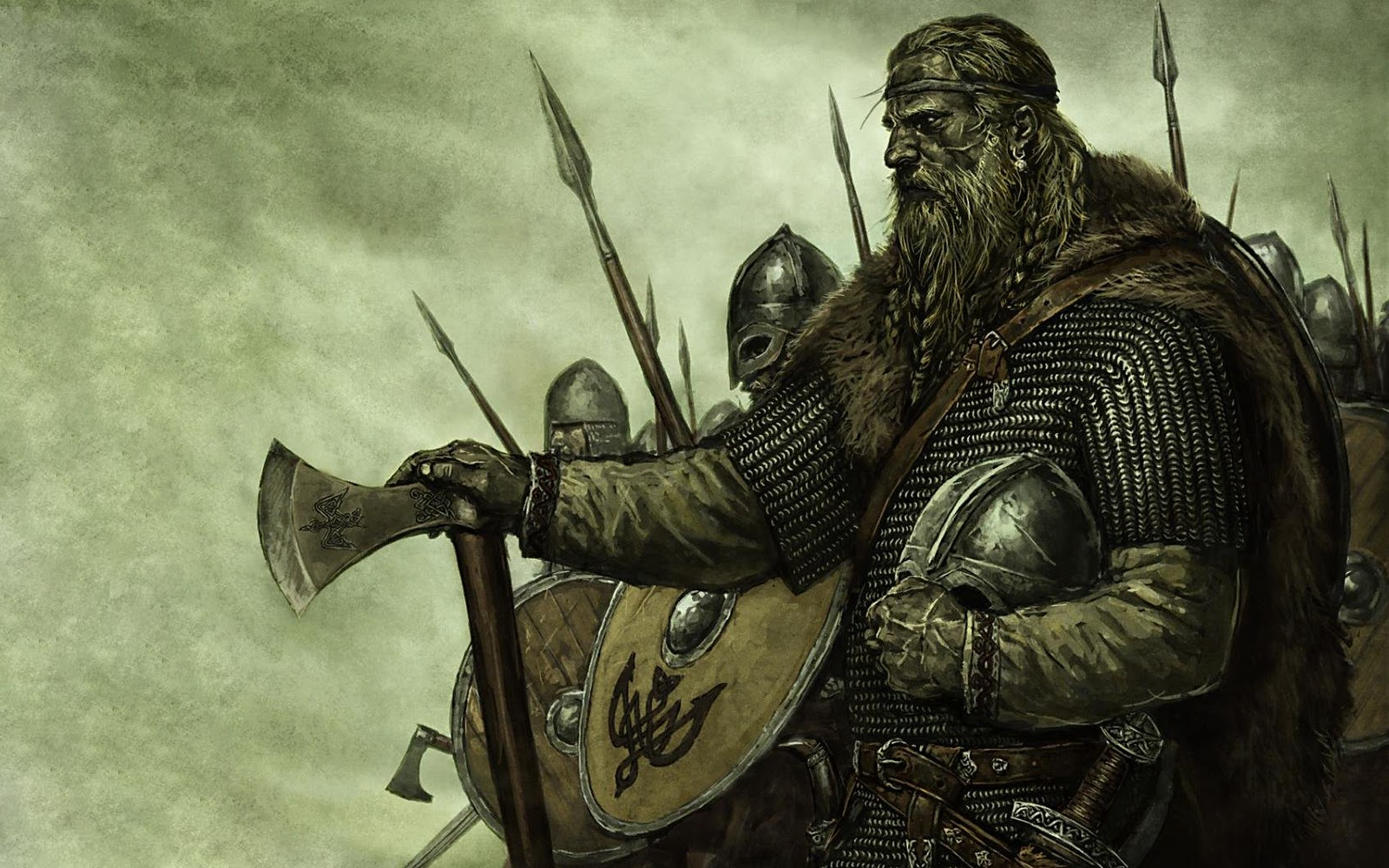 Ljot Thorfinnsson, the tenth century Viking Jarl of Orkney.