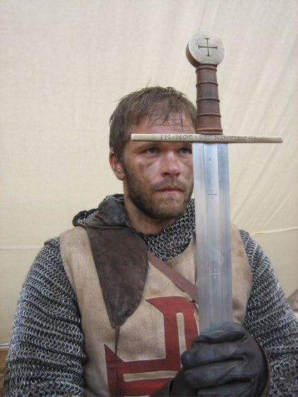From the magnificent movie  Arn, the Knight Templar . Image blatantly stolen from the web.