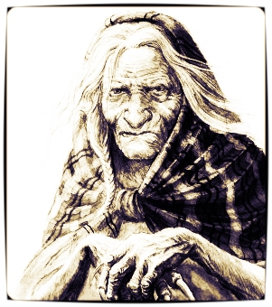 The Cailleach: Winter Witch Goddess.