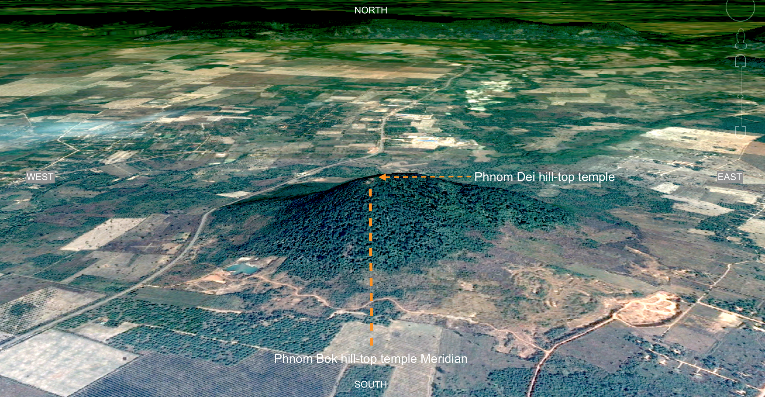 Phnom Dei hill-top temple is the key to unlocking the extended Khmer sacred geographies.