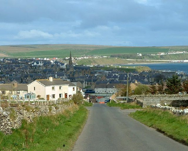 Thurso, Caithness, Scotland, where both Arthur St. Clair and I were raised.