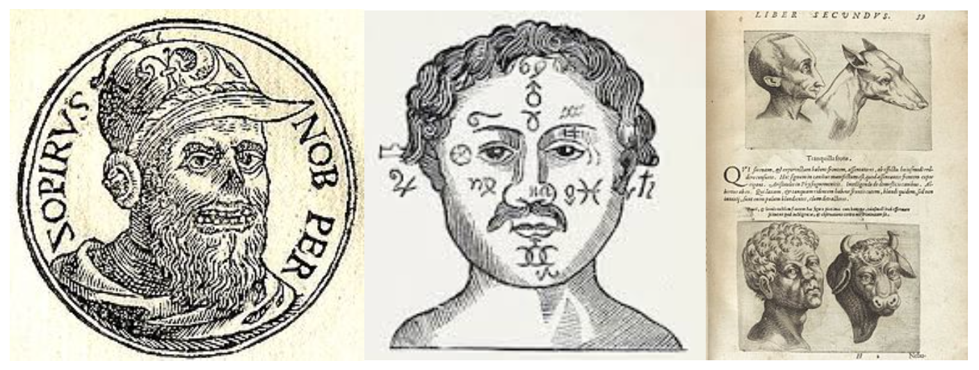 Zopyrus first developed physiognomic theory in fifth century BC in Athens.