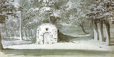 The Greenwich Ice House drawn in 1772 by Hieronymous Grimm