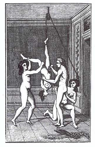 Image from  Juliette , by Marquis De Sade.