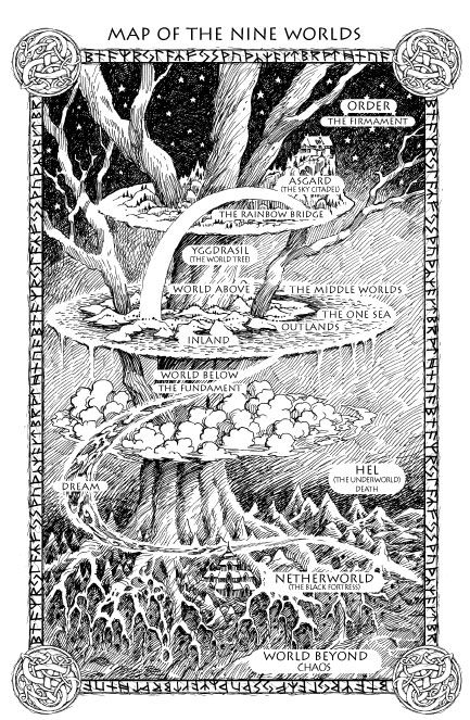 Yggdrasil of Norse mythology.
