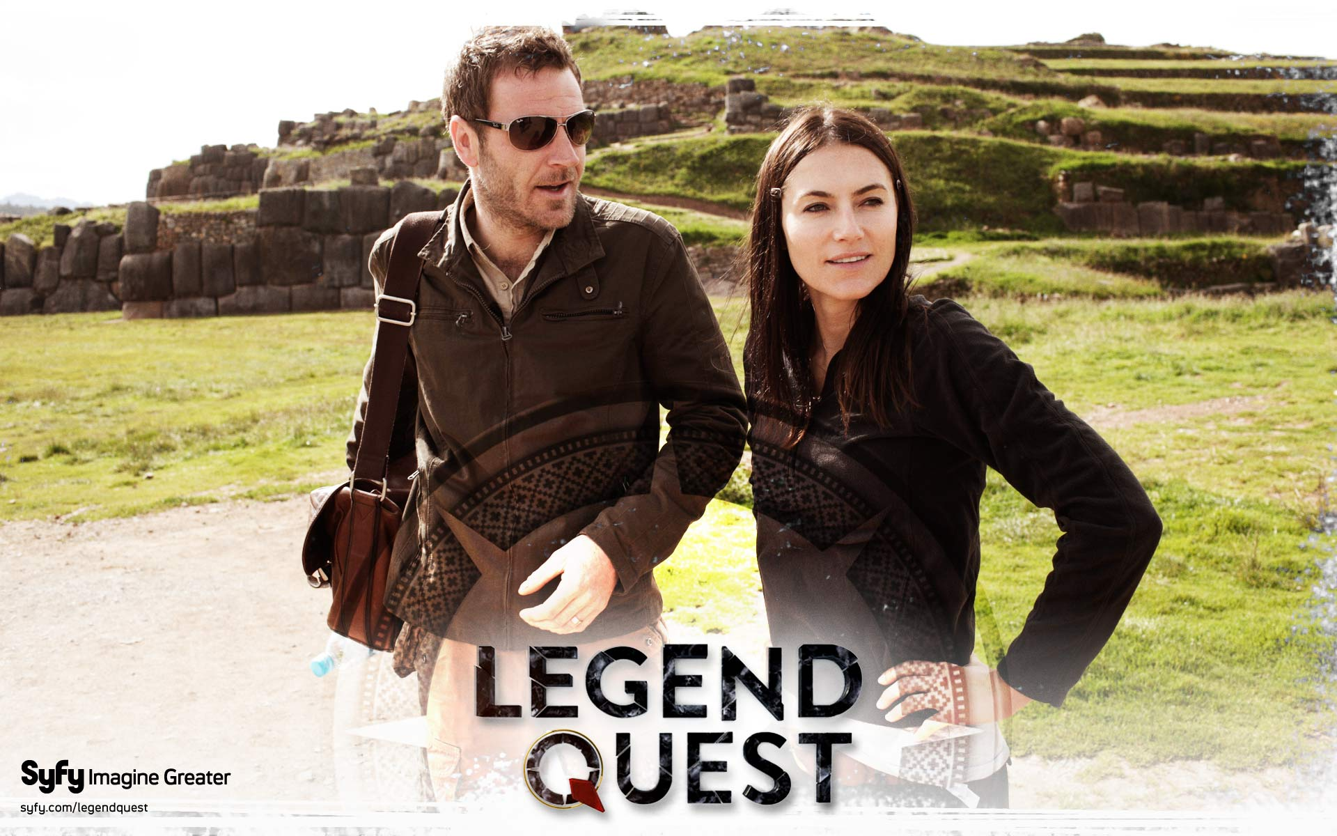 Legend Quest - This action-adventure series follows Ashley Cowie searching ancient sites around the globe tracking history's most sacred lost artifacts.