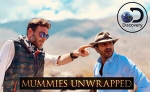 Human Sky Sacrifice Season1. Episode 7. - Ramy Romany and Ashley Cowie follow in the footsteps of three mummified Inca children discovered atop the Argentinean Andes.