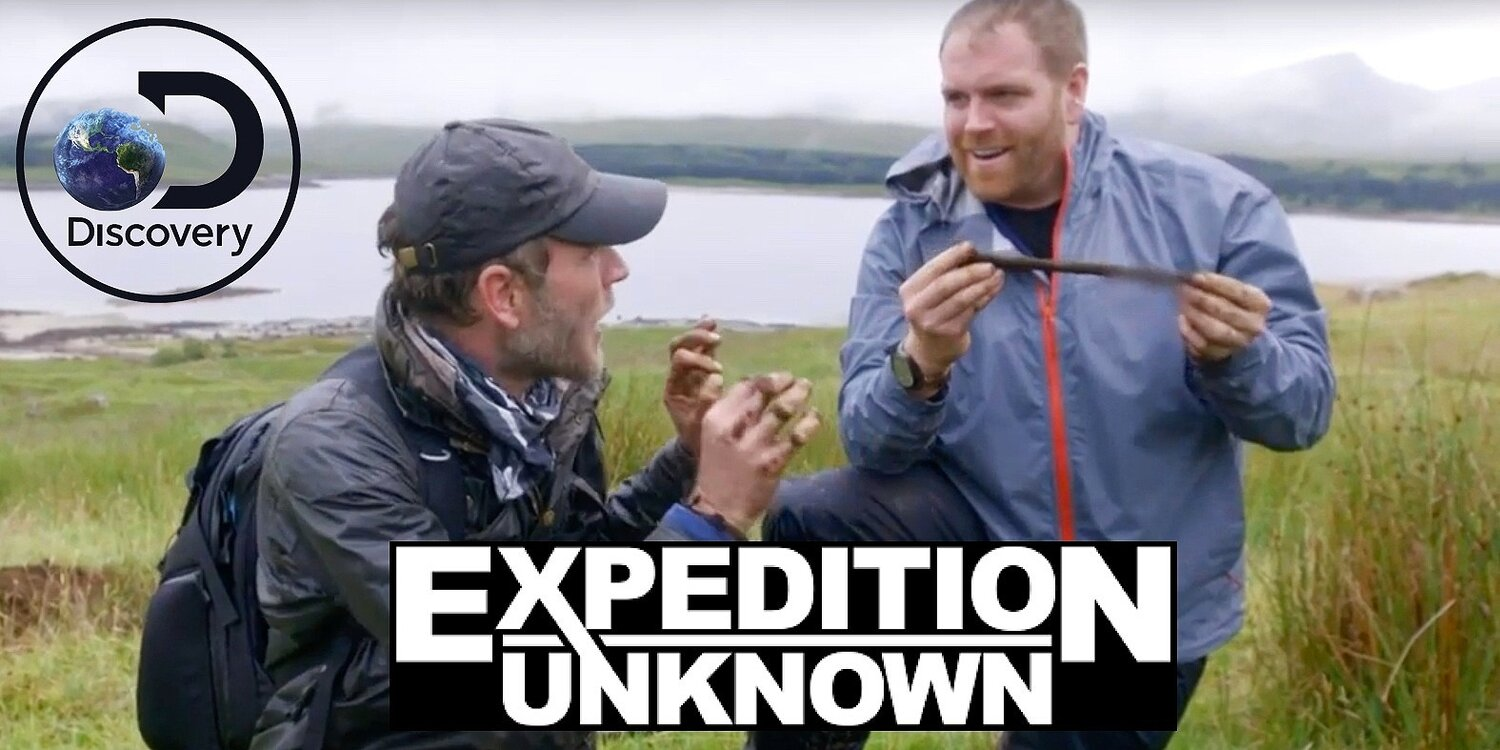 Lost Scottish GoldSeason 7. Episode 5. - Hunting for a lost gold reserve hidden after the Jacobite Uprising of 1745, Josh Gates joins Ashley Cowie treasure hunting in the Scottish Highlands.