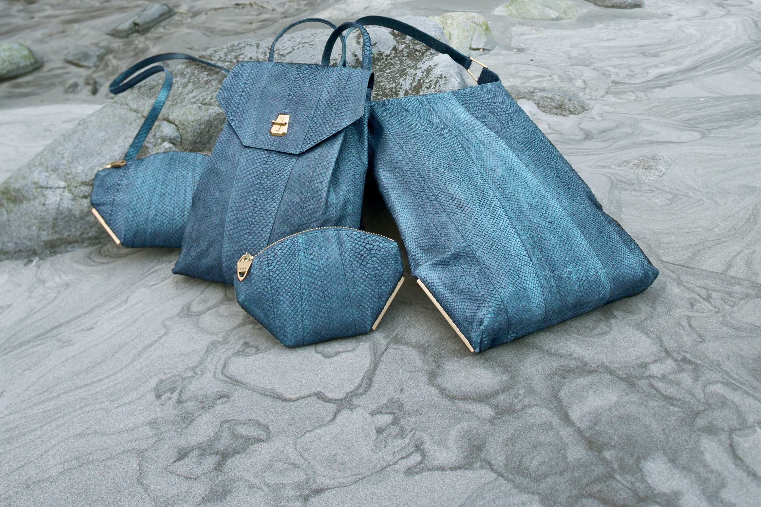 AITCH AITCH collection in teal image courtesy of designer