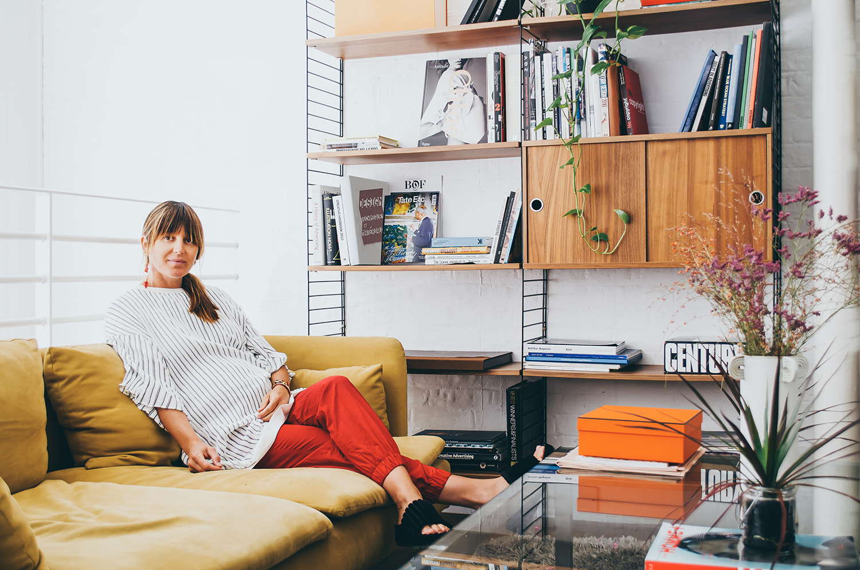Sunshine Bertrand in her office in London