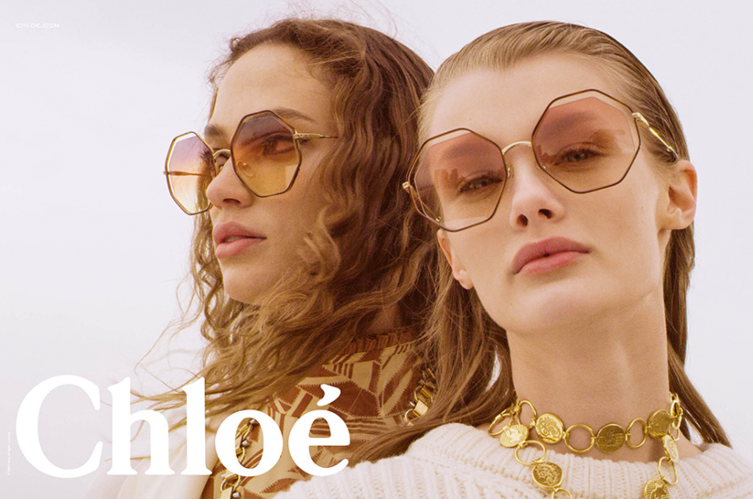 Chloé Poppy octagon sunglasses created with Sunshine Bertrand