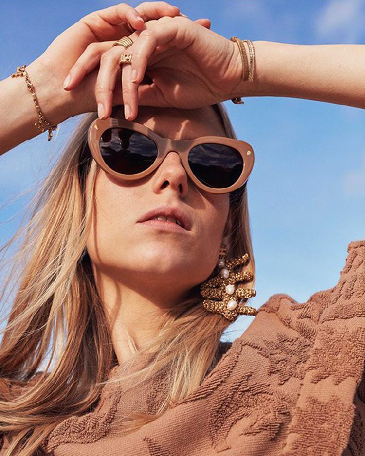 Lucy Folk Journeyman sunglasses created with Sunshine Bertrand
