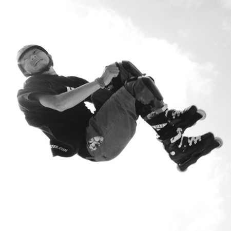 Inline skating -