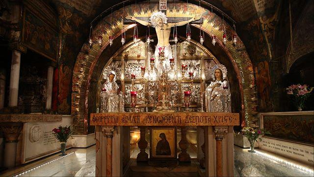 STATION XII - Jesus Dies on the Cross  #viadolorosa #stationsofthecross #jerusalem