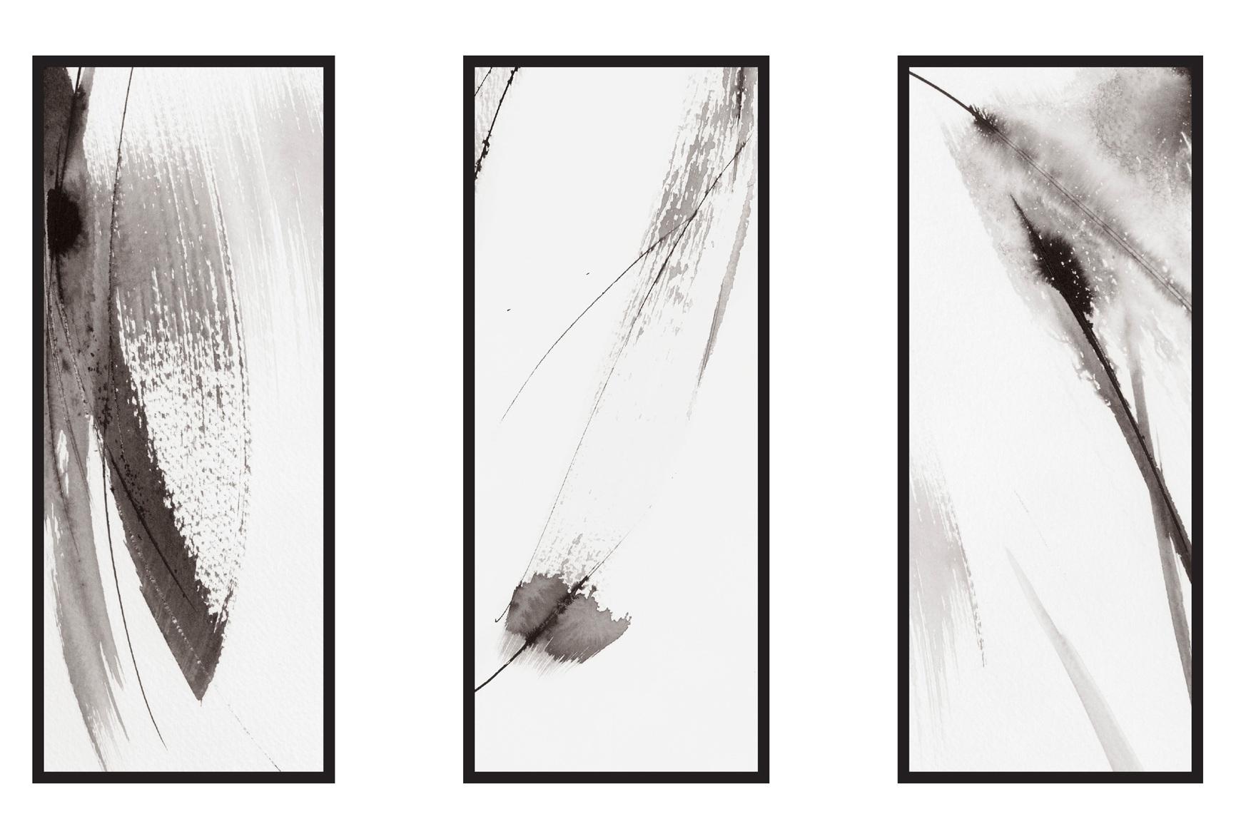 Dana Trijbetz, Sydney-based Artist - Abstract Collection 2018 - Ink Painting - 'Bask' Series.jpg