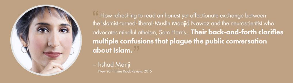 Irshad Manji, New York Times Book Review, 2015 – Testimonial