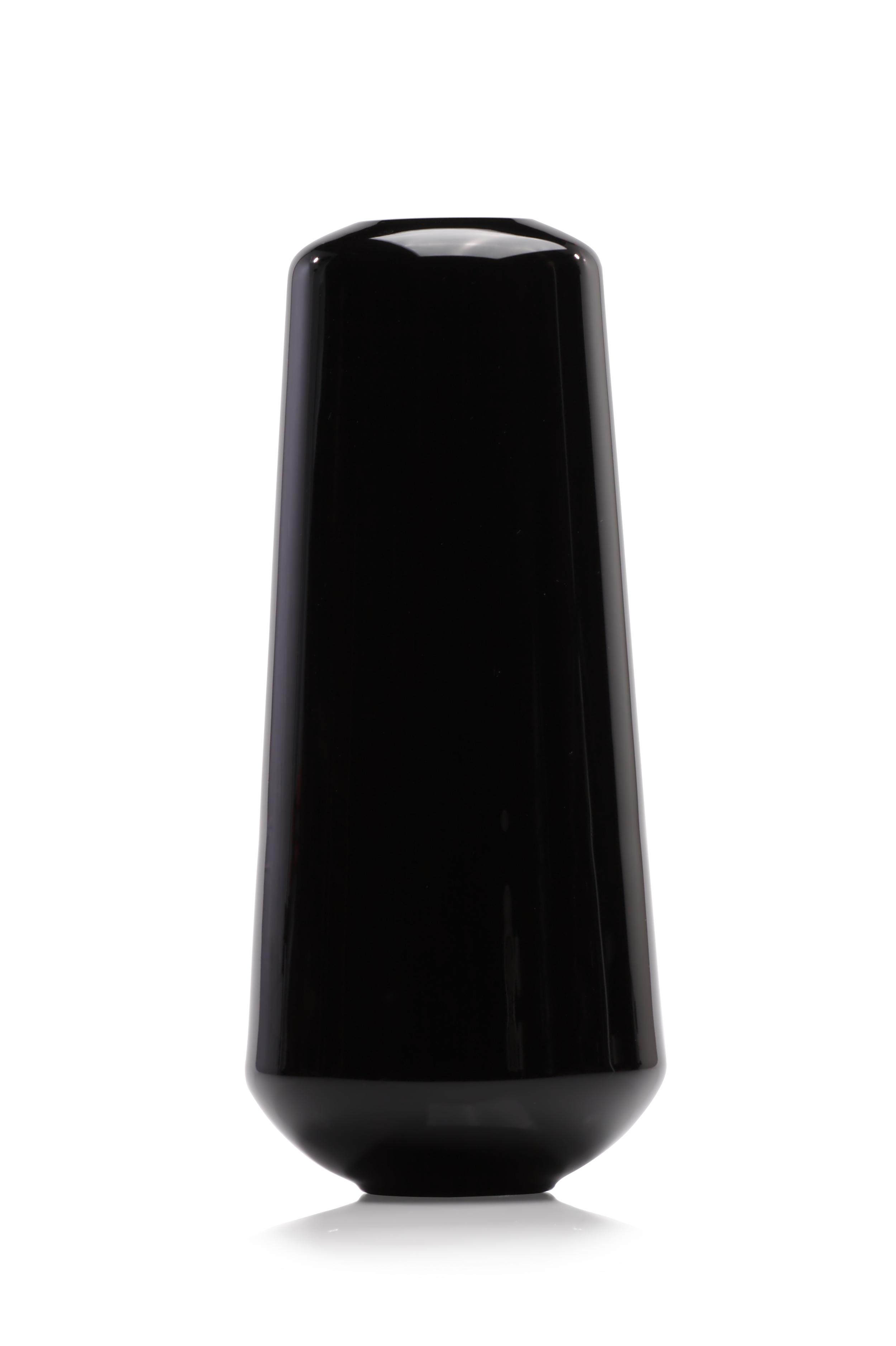 Hugo vase  Black and white  32 cm