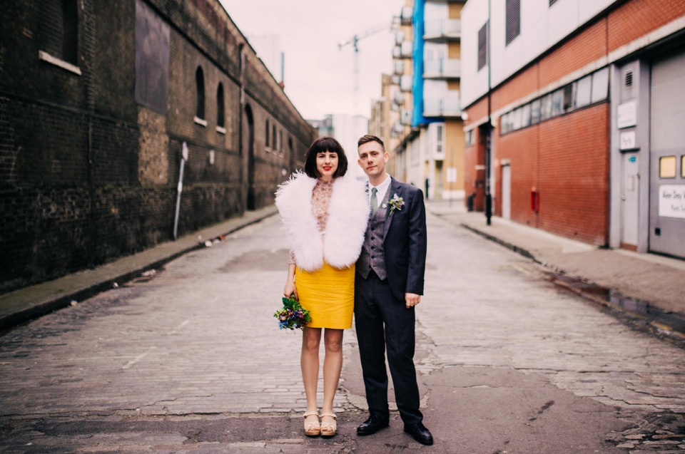 Wapping warehouse and studio wedding venue