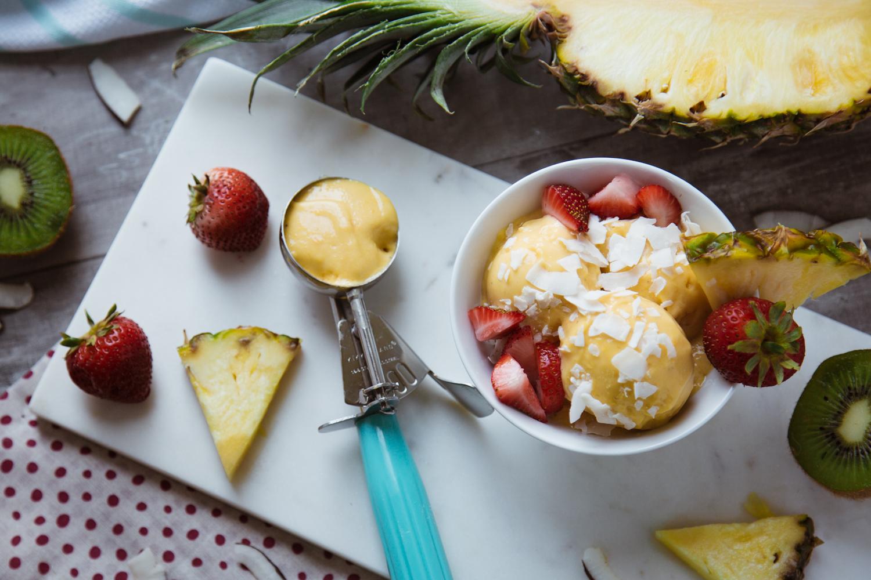 Recipe: Tropical Mango Nice Cream