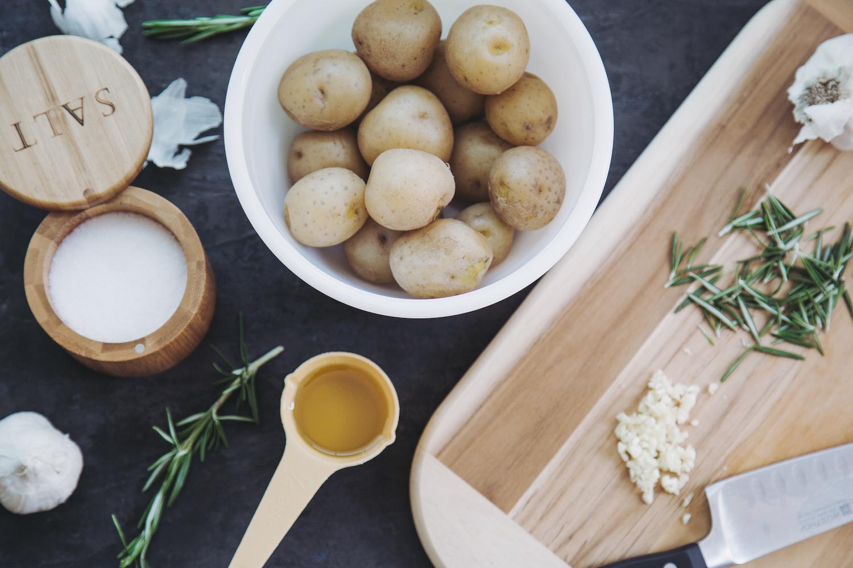 Recipe: Garlic Rosemary Smashers