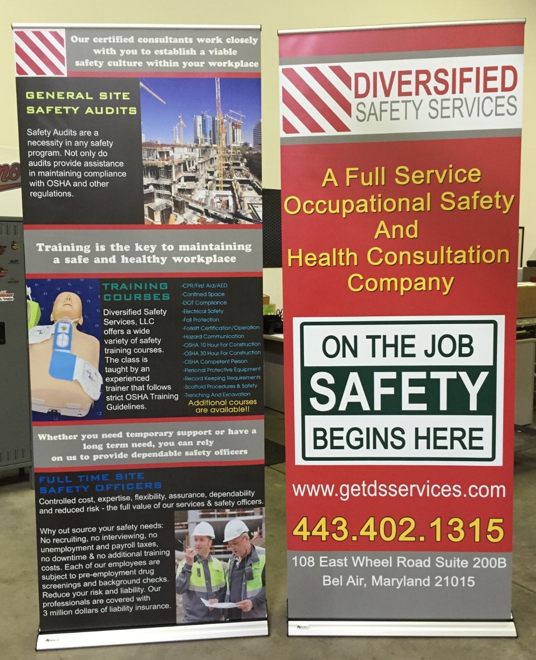 retractable banner roll up banner