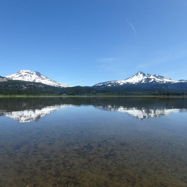 #summer #paddle #centraloregon #cascadelakes #hosmerlake #sparkslake #carcamping