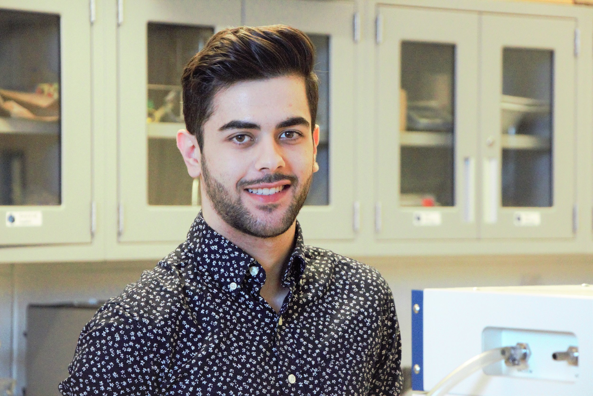 MATTEO TIMPANO - Dept. Of Mechanical EngineeringSupervisor: Sunny LeungAward: NSERC USRABio: Matteo Timpano is a fourth year student in the Department of Mechanical Engineering at York University. Having worked with Dr. Sunny Leung during the summer of 2018, Matteo has decided to return and finish his research in the design and fabrication of triboelectric nanogenerators (TENGs) for green energy generation. This summer, Matteo will be researching the effects of electrospinning to enhance the effect of triboelectrification in the polymer friction layers. He will be performing tests such as differential scanning calorimetry (DSC) and fourier-transform infrared spectroscopy (FTIR) on the electrospun samples to analyze the degree of crystallinity as well as the electroactive phase content within the polymer matrices. Furthermore, Matteo will be simulating real world applications such as harvesting energy from wind, rain, and mechanical motion as well as demonstrating the capability of TENGs for being used as self-powered sensors.